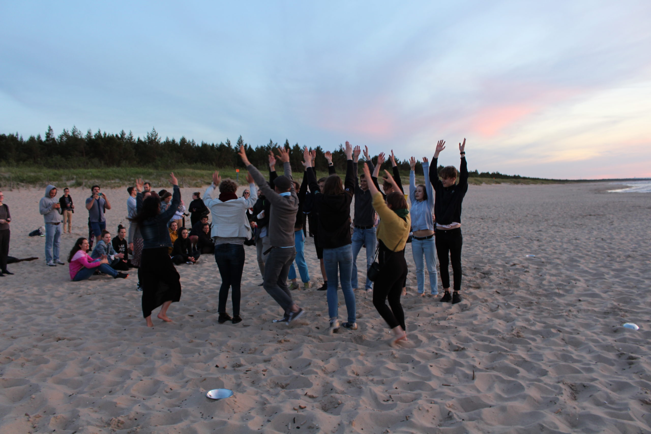 Baltic Youth Camp Fireshow